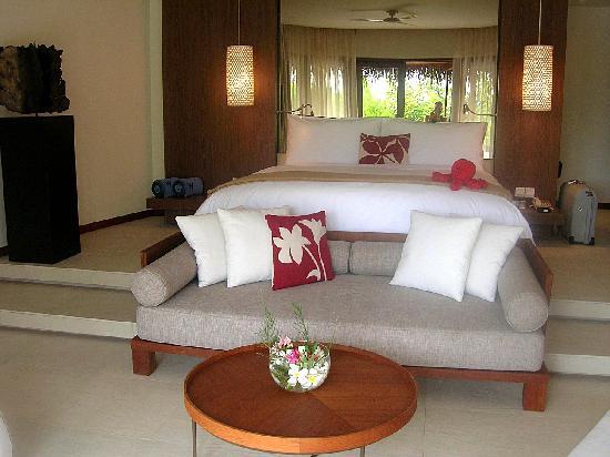 W Maldives: cama