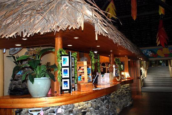 The Rarotongan Beach Resort & Spa: recepcion