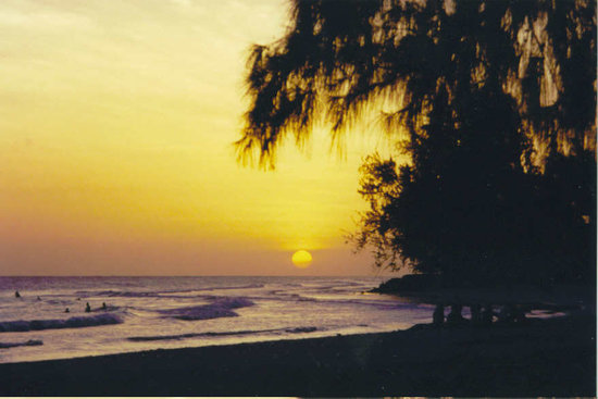 Hastings, Barbados: Rockley Beach at Sunset