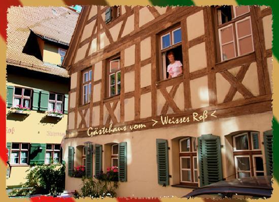 Динкельсбуль, Германия: Das Gästewohnhaus