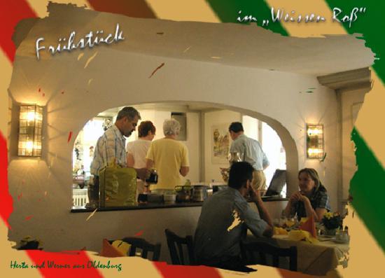 Flair Hotel Weisses Ross: Hier gibt es Frühstück
