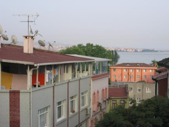 Vezir Hotel: vue du balcon (1)