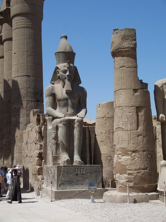 Nile River Valley, Egypt: Luxor: Rameses II