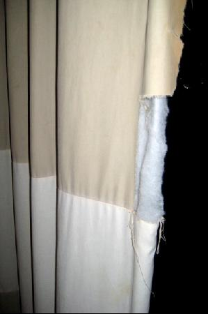 Curtains Ideas curtains cardiff : torn curtains- a bit shabby - Picture of The St. David's Hotel ...