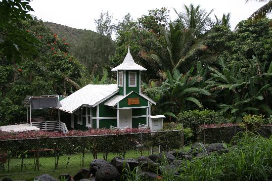 Papaya Paradise Bed and Breakfast: Kleine Kirche auf Molokai