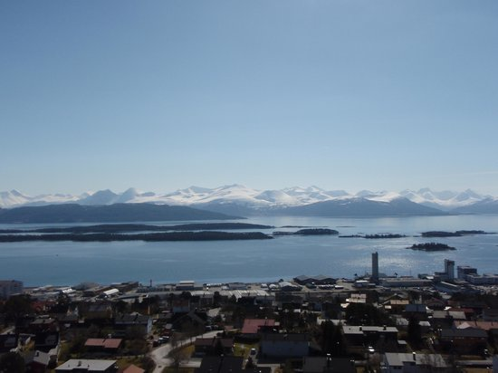 Looking south from Molde