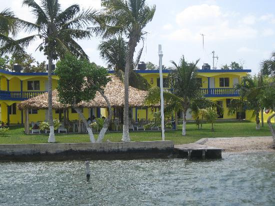Hotelito El Paraiso: vue sde l'hitel paraiso