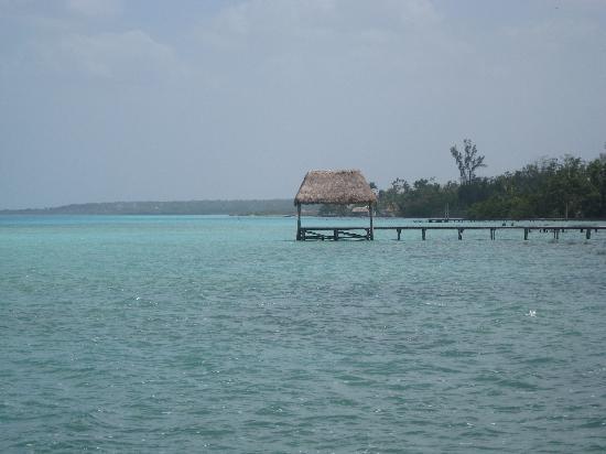 Hotelito El Paraiso: vue du ponton