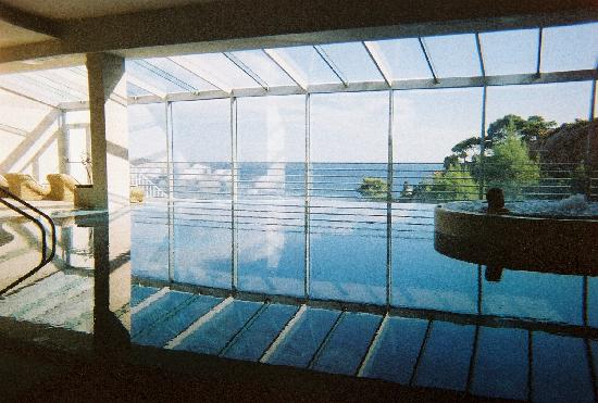 Hotel Bellevue Dubrovnik : View from the indoor pool
