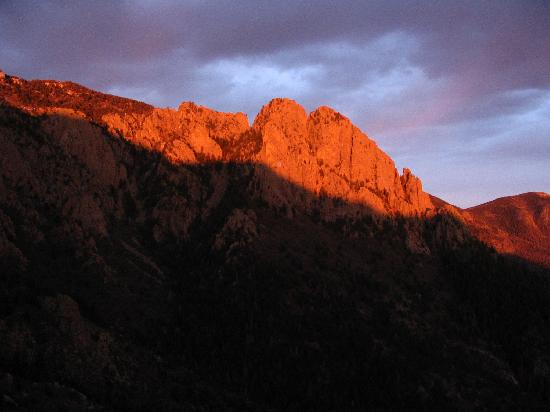 Sandia Peak Tramway: Sunset Sandia