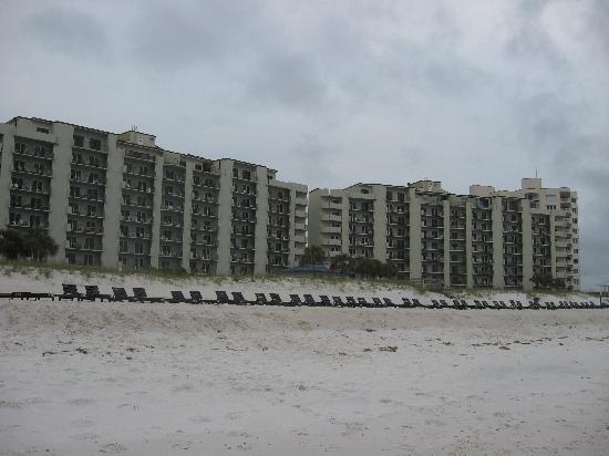 Moonspinner Condominium: MS from the beach