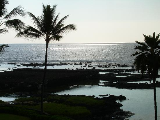 Island of Hawaii, HI: View from the lanai