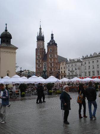 Nordic House Apartments : The main square towards the church