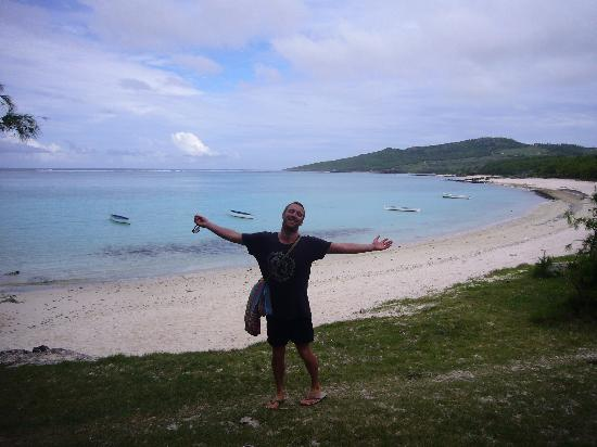 Chez Claudine : The beach at St Francois