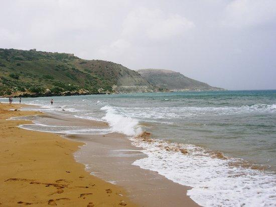 Ilha de Gozo, Malta: ramla bay
