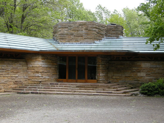 Chalk Hill, Pennsylvanie : Outside of Kentuck Knob