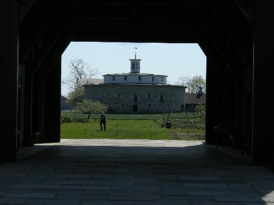 Hancock Shaker Village: The famous round barn