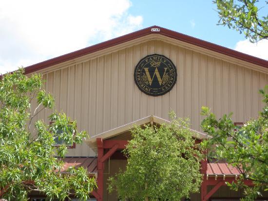 Wiens Family Cellars - Winery: Outside of Wien's Tasting Room