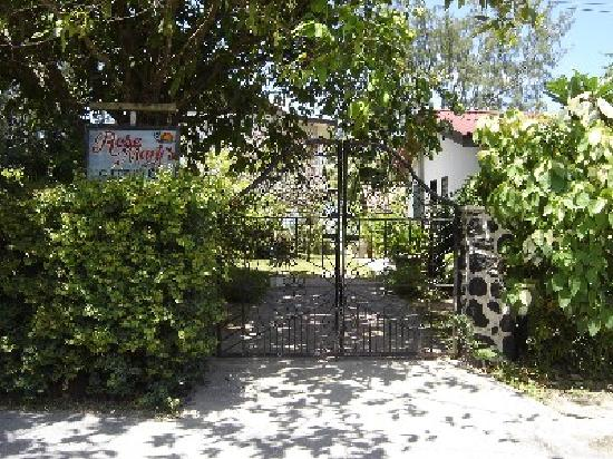 Rosemary's Guesthouse: Rosemary's main gate