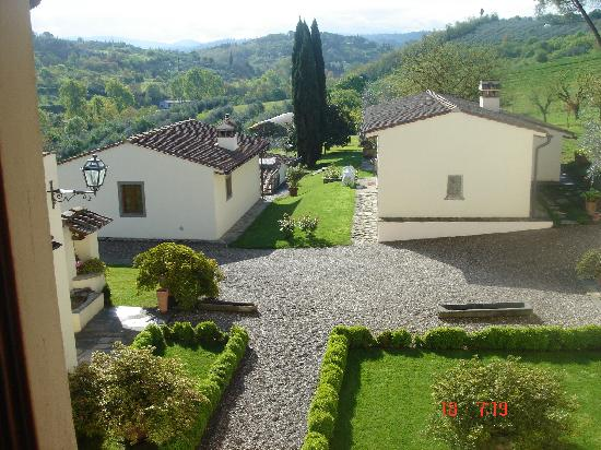 Villa Poggio ai Merli: the view from the bridal suite