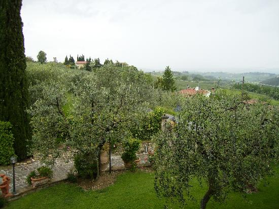Villa Le Torri: The view from one of our windows