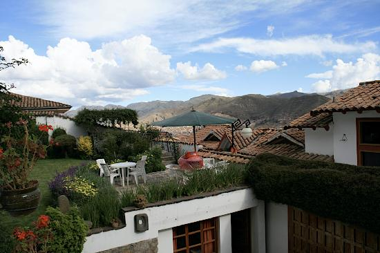 B&B-Hotel Pension Alemana: View over the City