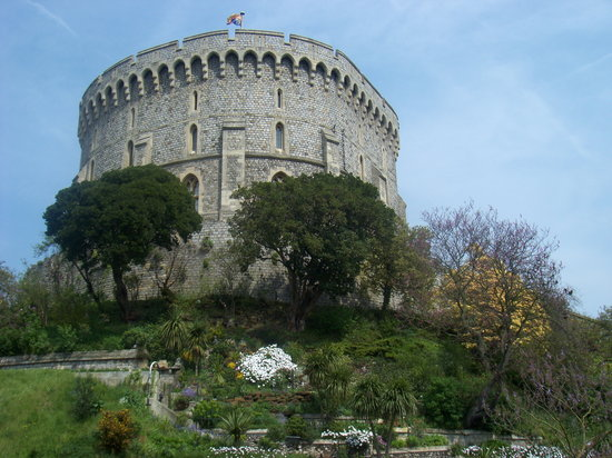 Windsor Castle: round tower