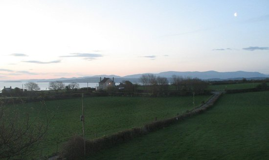 Moelfre, UK: View from the bedroom at dawn.