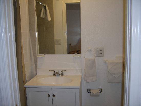 9 Arizona Motor Hotel: Bathroom