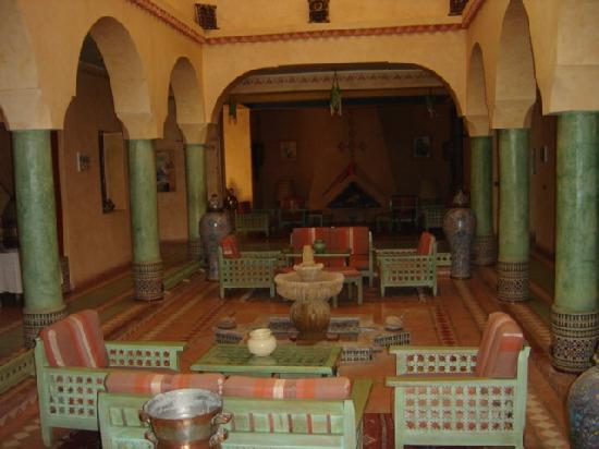 Hotel Kasbah Lamrani : SALON