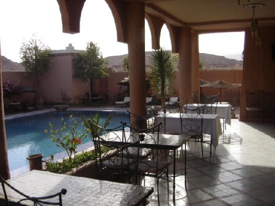 Hotel Kasbah Lamrani : TERRASSE