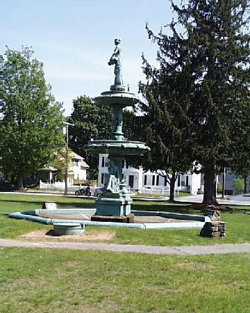 The Beaux Arts Fountain on the West Brookfield Common