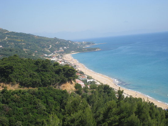 Парга, Греция: Transfer road from PVK airport to Parga