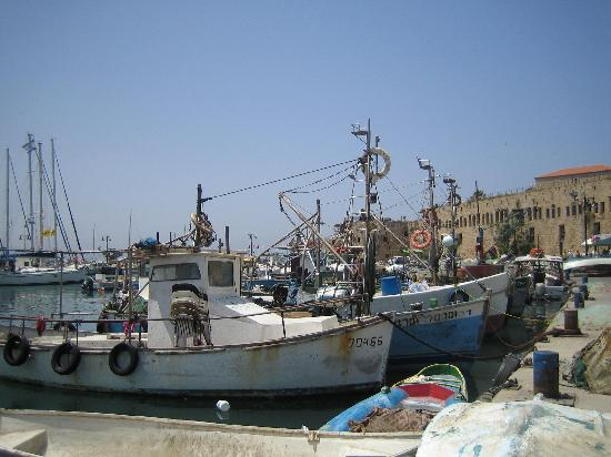 Akko, Israel: Harbour old town