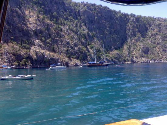 Oludeniz: very good sea