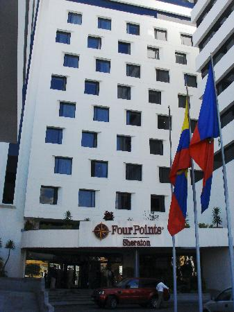 Sheraton Quito: Front of Four Points Sheridan