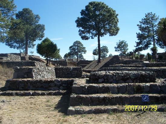 Cantona Archaeological Ruins : A small part of Cantona