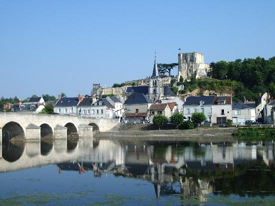 Montrichard Castle & River Cher