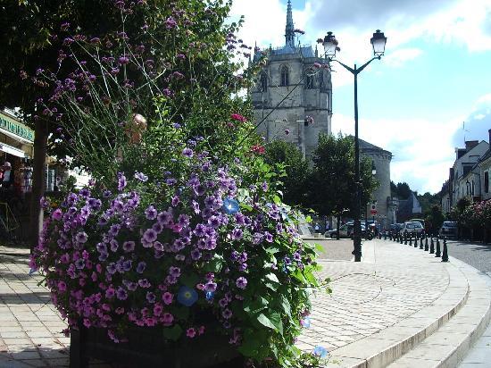 Hotel Restaurant Le Bellevue: Amboise Cheteau Chapel