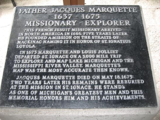 Father Marquette National Memorial and Museum: Memorial