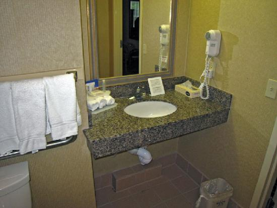 Holiday Inn Express Windsor - Sonoma County: Bathroom