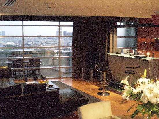 Hilton Dubai Creek : Penthouse Suite