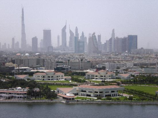 Hilton Dubai Creek: Room with a view