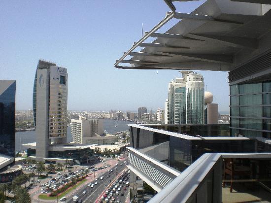Hilton Dubai Creek: Penthouse Balcony