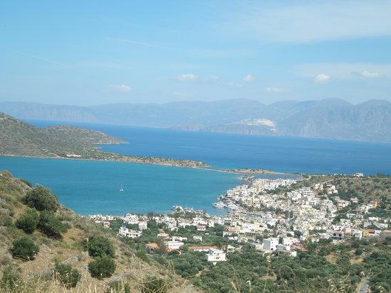 Malia, Grecia: Overlooking spinalonga island