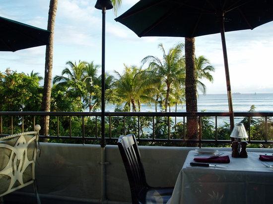 d.k Steak House: View from the restuarant