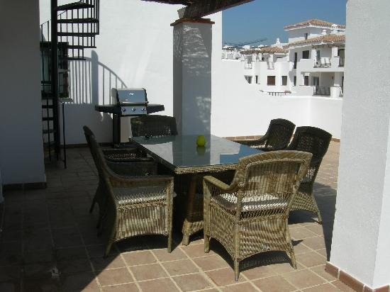 Alcaidesa: Main terrace