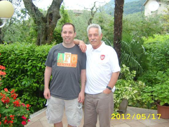 Hotel Alpi: John and me