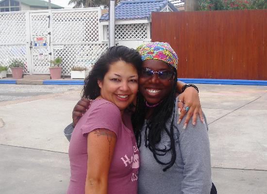 Port Aransas Inn: Tammy & Princess