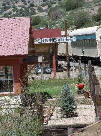 ‪‪Verde Canyon Railroad‬: The stop in Perkinsville‬